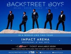 Backstreet Boys in Bangkok
